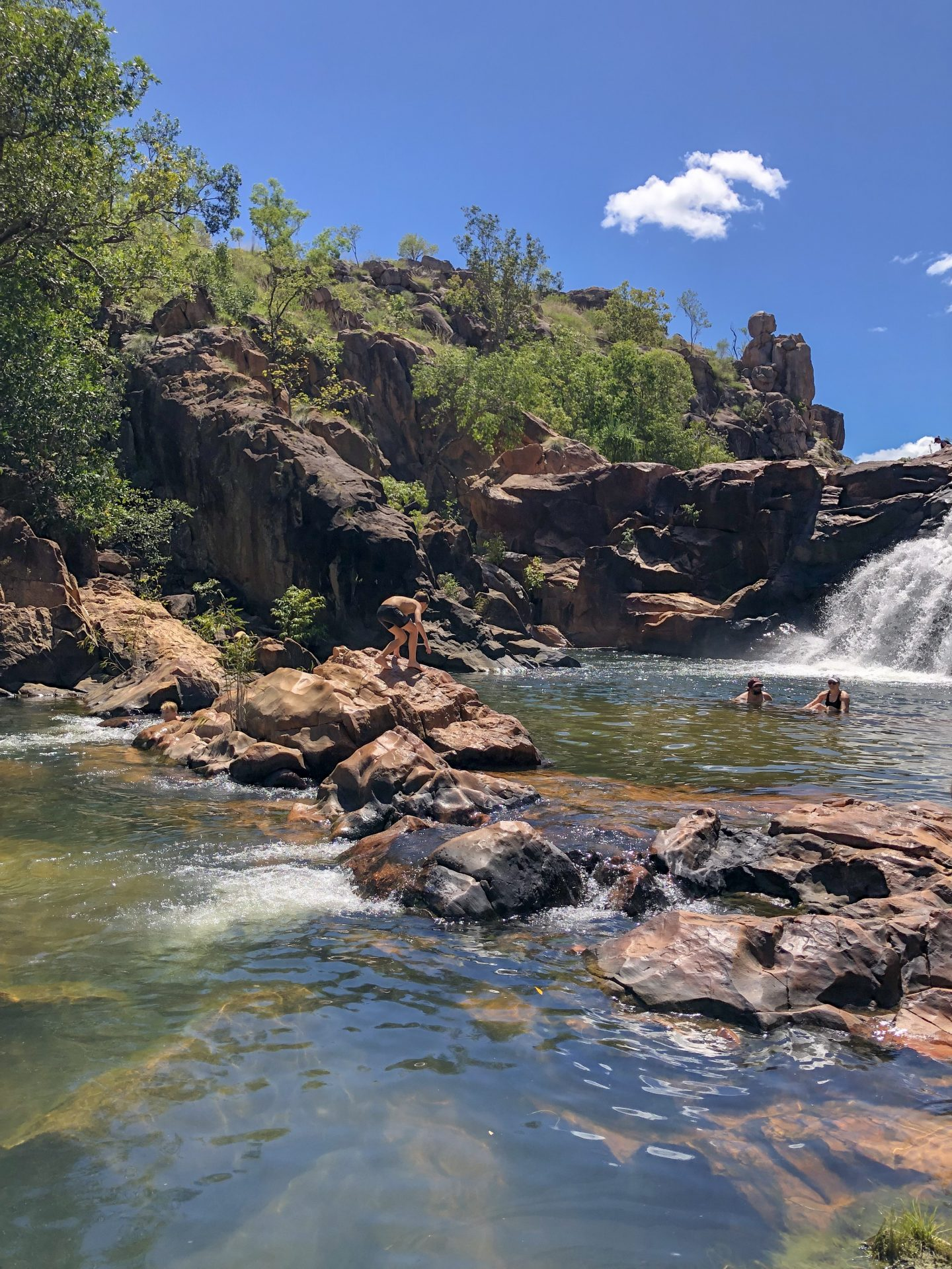 Edith Falls in Katherine