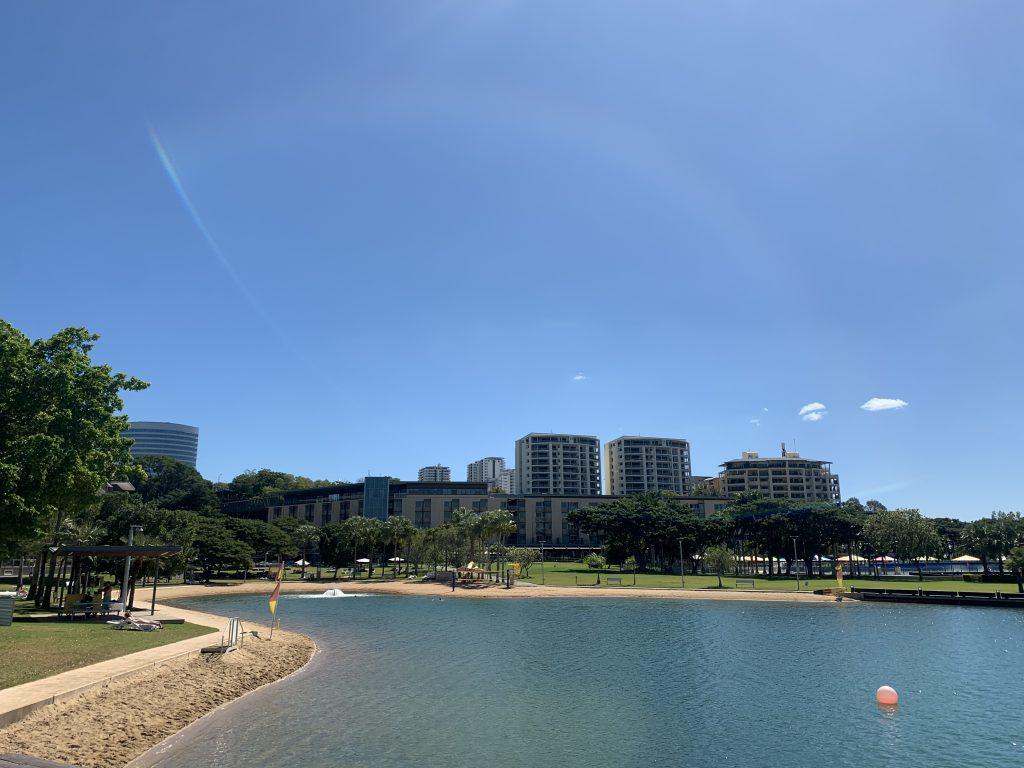 Recreation Lagoon Swimming