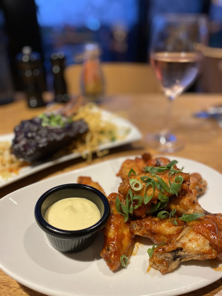 chicken wings the vue
